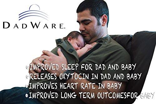 5c390ad2539 DadWare Baby Wrap T-Shirt by Skin to Skin Bonding Kangaroo Care Shirt