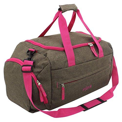 Bags Marrón semana 56 de Bolsa Rosa in Brown Oscuro fin cm q4gOSqC