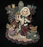Yesterday's Child - The Dollstone Collection - Sandra Claus...At Fireplace