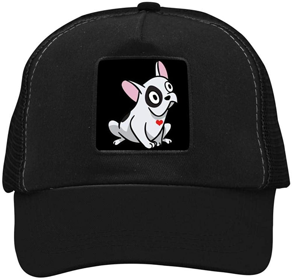 Pitbull Heart Mesh Caps Adjustable Unisex Snapback Trucker Cap