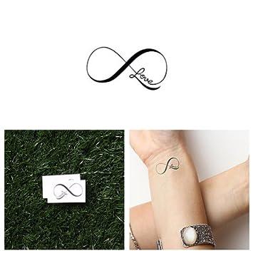 Tatuaje Temporal Tattify - Signo del amor infinito - Éxtasis ...