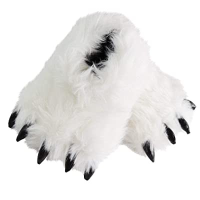 Bear Claw Cute Fluffy Animal Slippers for Women Monster Cosplay | Slippers