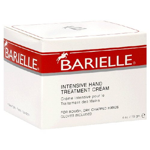Barielle Intensive Hand Treatment Cream with Gloves 4 Ounces 7101