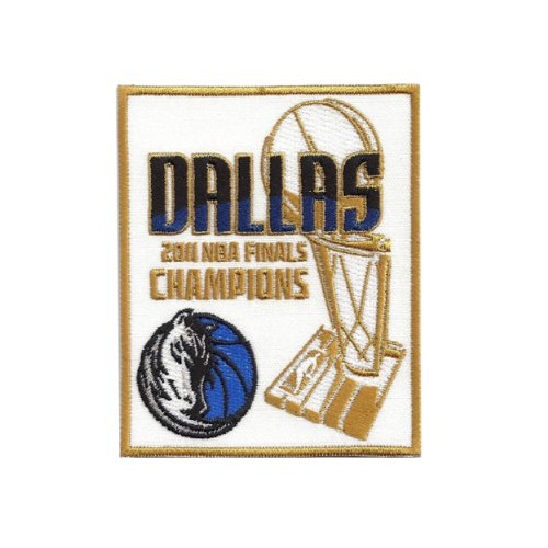 Dallas Mavericks Nba Series - NBA Dallas Mavericks 2011 Finals Champions Logo Patch