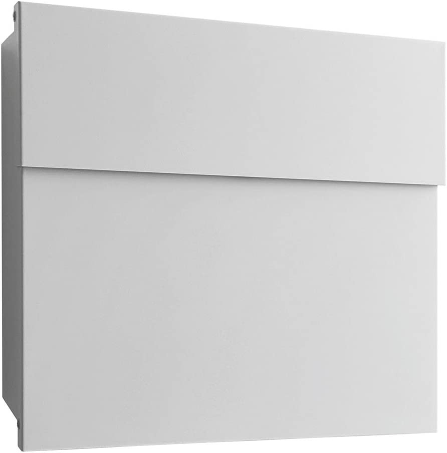 Radius Buz/ón de acero galvanizado Letterman 4 color blanco