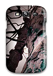 First-class Case Cover For Galaxy S3 Dual Protection Cover Strange Tree