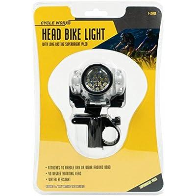 Éclairage avant pour vélo avec LED longue durée très brillante