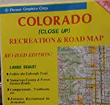 img - for Colorado (close up) recreation & road map (USA City Maps) book / textbook / text book