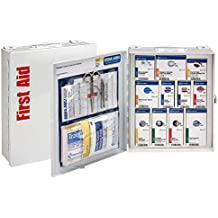 First Aid Only ANSI 2015 Compliant SmartCompliance First Aid Cabinet without Medications