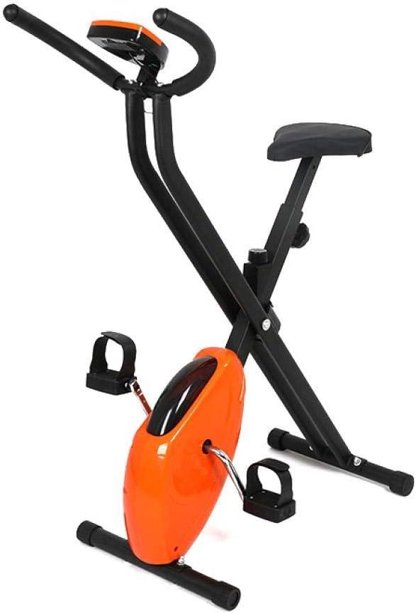 Bicicleta estática plegable Lluo ajustable para interior y ...