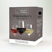 Shiraz Kit - Master Vintner Winemaker's Reserve Wine Making Recipe Kits - Ingredients for making 6 gallons of Homemade Wine