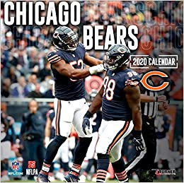 Chicago Bears 2020 Schedule.Chicago Bears 2020 Calendar Inc Lang Companies