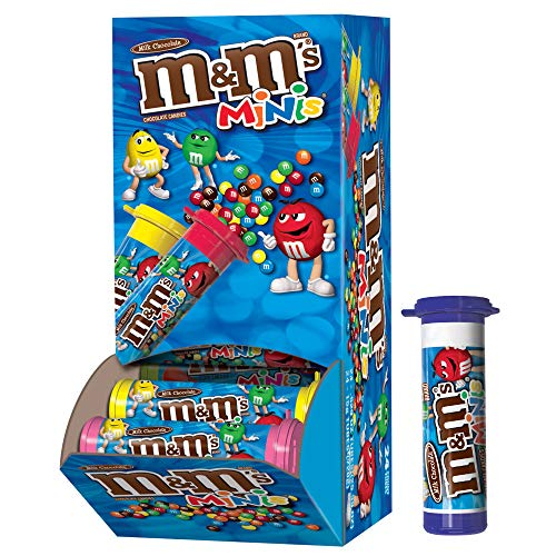 Personalized M And Ms (M&M'S MINIS Milk Chocolate Candy, 1.08-Ounce Tubes (Pack of)