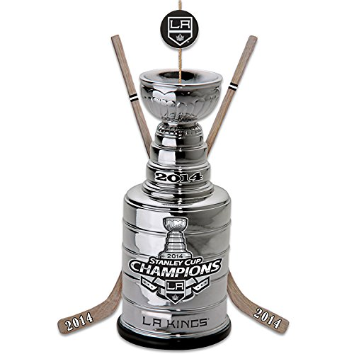 NHL Los Angeles Kings 2014 Stanley Cup Champions Commemorative Christmas Ornament by The Bradford Exchange