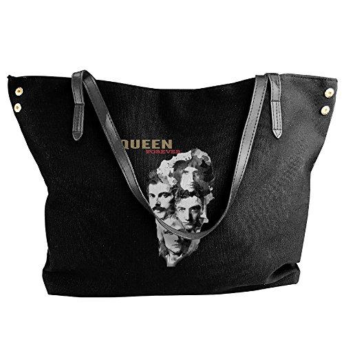 Queen Freddie Mercury Brian May Roger Taylor John Deacon Handbag Shoulder Bag For Women ()