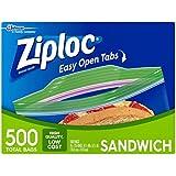 Ziploc Easy Open Tabs Sandwich Bags (4)