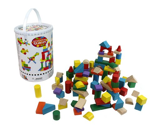 Right Track Toys Wooden Blocks - 100