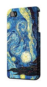 S0213 Van Gogh Starry Nights Case Cover for Iphone 4 4s by lolosakes