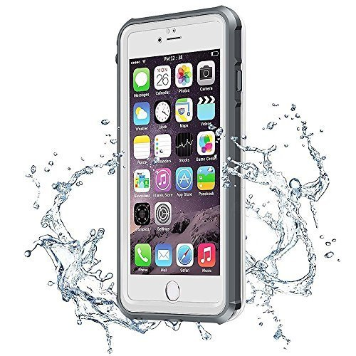 Waterproof Case for iPhone 7,Redpepper Drop Resistant Full Sealed Underwater Protective Cover, Dirtproof Snowproof Shockproof IP68 Certified Waterproof Case for iPhone 7(4.7 inch)