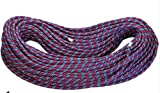 Zowaysoon 10m 11mm (49ft 0.43in) Climbing Dynamic Rope 8.9KN Rope for Rock Climbing Caving Canyoning
