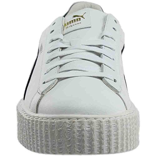 Puma Seleziona Mens X Fenty Per Creepers Di Rihanna Cracked Bianco / Nero / Bianco