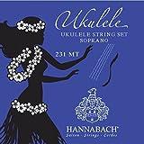 Hannabach 231 MT Soprano Ukulele Set (ADF#H Nylon
