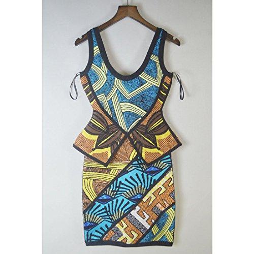 blau 36 Damen blau Kleid HLBCBG qzfxtHwfB