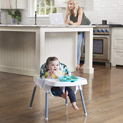 51CbatpBYzL - Evenflo 4-in-1 Eat & Grow Convertible High Chair, Prism