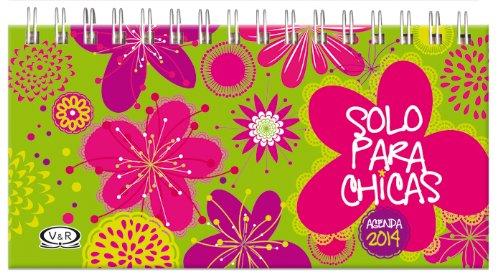 Solo Para Chicas Agenda 2014-verde: Amazon.com: Books