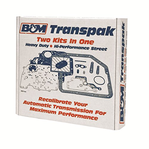 B&M 10227 Transpak Automatic Transmission Recalibration Kit (Transpak Transmission Automatic)