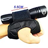 liaoshan life Soft Goodman Style Glove 03 Hand & Arm Strap Nylon Adjustable Wrist Strap Soft Hand Mount for Flashlight Dive Torch (Without Torch)