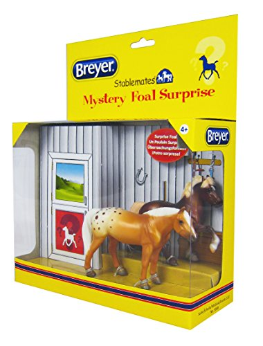 Breyer Mystery Foal Surprise Horse Box Toy