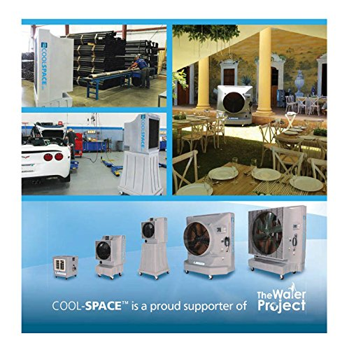photo Wallpaper of Cool-Space-COOL SPACE CS 16 VD Variable Drive Portable Evaporative Cooler,-Gray