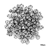 100pcs M5 Stainless Steel Wire Helical Screw Thread Inserts Repair Kit(M5*0.8 * 1D)