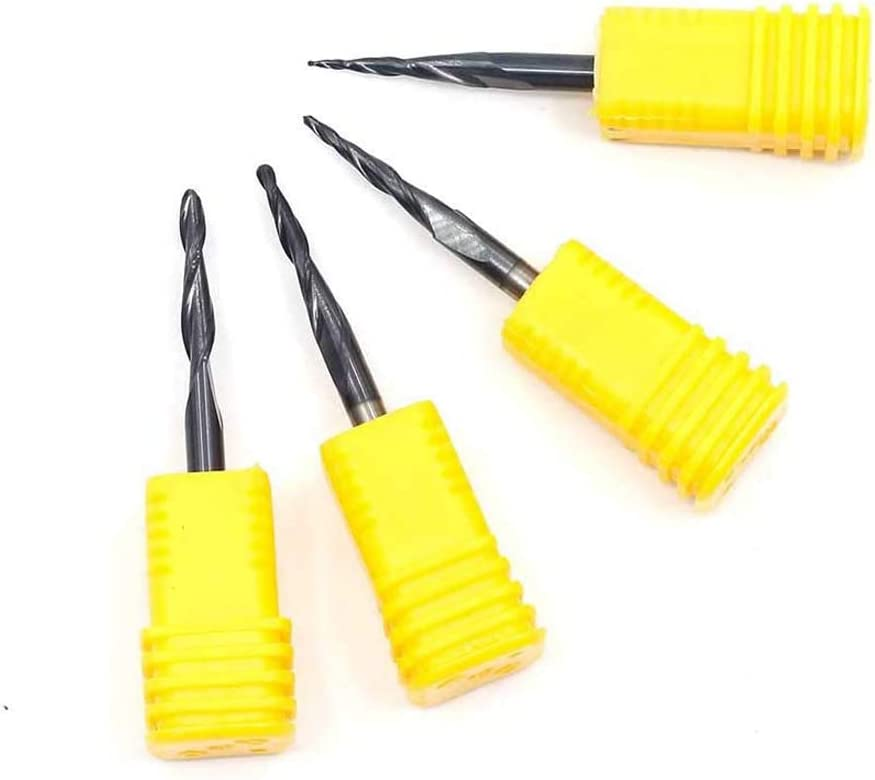 FLY MEN 5pcs 6mm to 4mm Engraving Bit CNC Router Tool Adapter