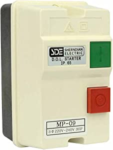 Big Horn 18833 3-Phase, 220-240-Volt, 3-HP, 8-12-Amp Magnetic Switch - UL Approved