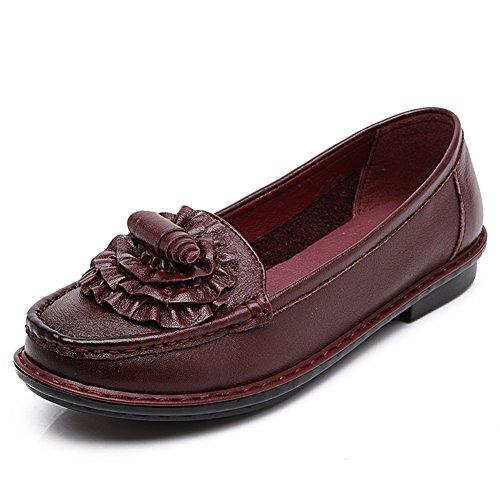 Zapatos de damas casual/Fondo suave, zapatos de las madres/Zapatos de cuñas/ zapatos de las mujeres de Corea B