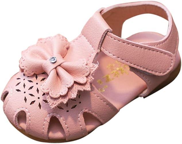LEvifun Sandale Bébé Fille Été Chaussure Bebe Enfant Fille