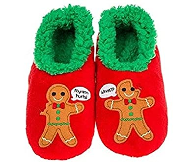 4f4f1e28899 Womens Ladies Adult Snoozies Fun Xmas Splitz Range Slippers Assorted  Amazon .co.uk  Shoes   Bags