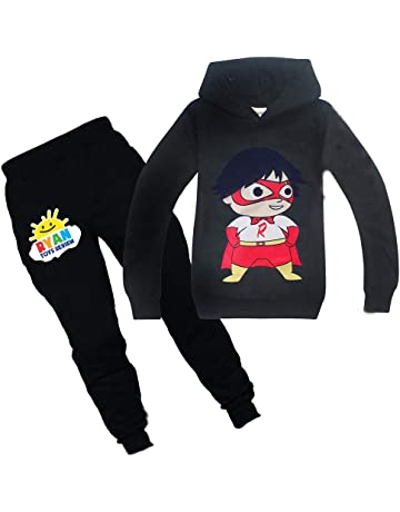 Ryan Toys Review Children Trousers Suit Long Sleeve Hoodies Tops+Pants Age 3-12
