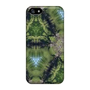 New Premium Qur17847tHrn Case Cover For Iphone 5/5s/ Kaleidoskope Of A Lake Protective Case Cover