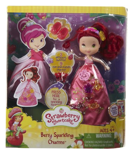 Strawberry Shortcake Berry Sparkling Charms -