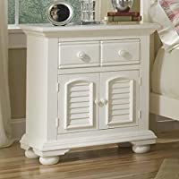 Cottage Traditions 1 Drawer Nightstand - Eggshell White
