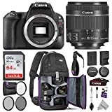 Cheap Canon EOS Rebel SL2 DSLR Camera with 18-55mm Lens w Advanced Photo and Travel Bundle