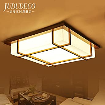 TYDXSD Chinesische Lampe Japanische Zimmer Schlafzimmer Esszimmer Wohnzimmer Lampen Leuchten Warm Ein Quadrat Der