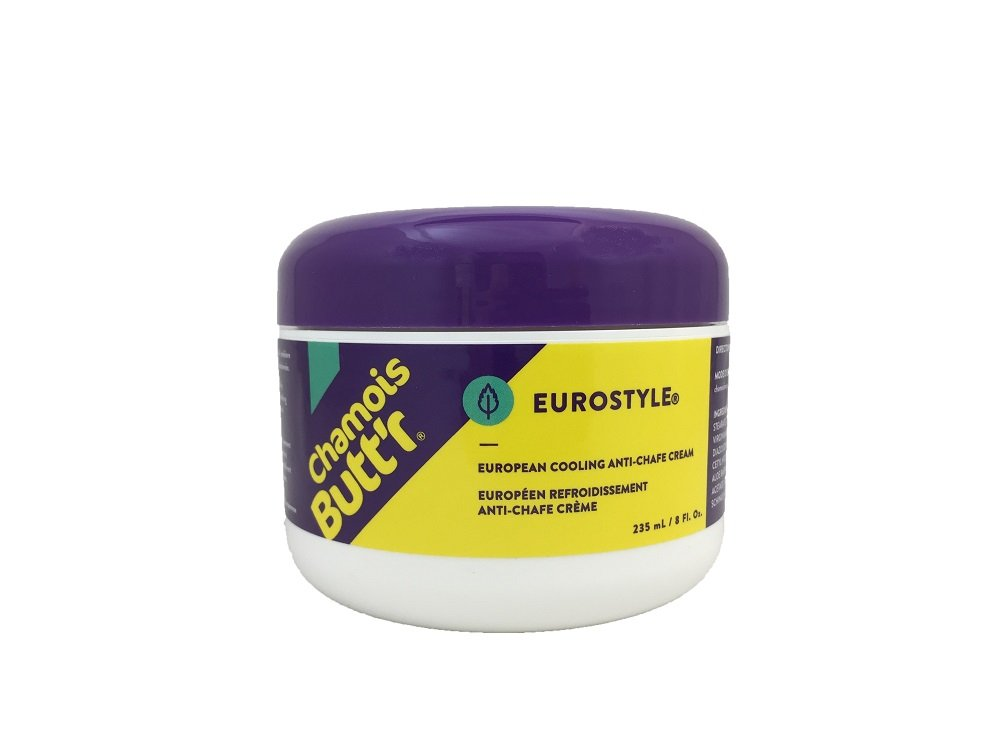 Chamois Butt'r Eurostyle Anti-Chafe Cream, 8 ounce jar by Chamois Butt'r