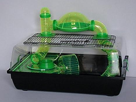 Jaula para roedores Alex Tuba, completo plástico, Teddy Lux ...