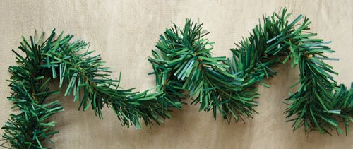 Faux Pine Rope Garland 18' Country Primitive Christmas Holiday Décor