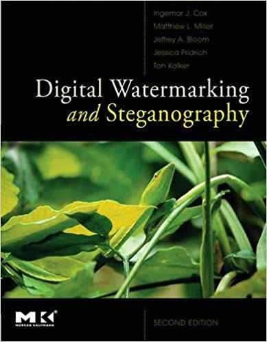 Digital Watermarking and Steganography 2nd Edition