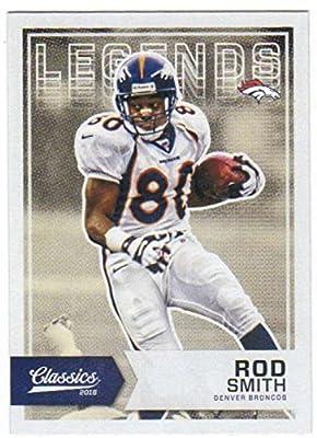 Football NFL 2016 Panini Classics Legends #191 Rod Smith NM-MT Broncos